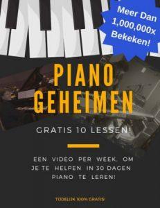online pianoles geheimen